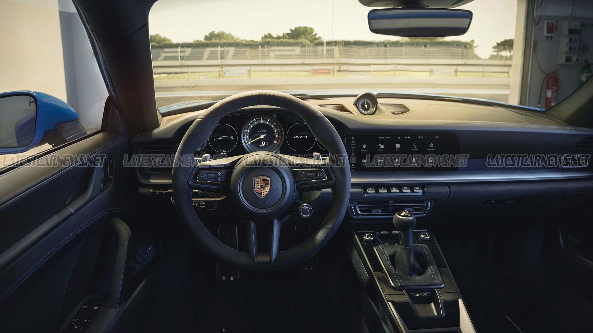 Porsche 911 GT3 2022 Interior